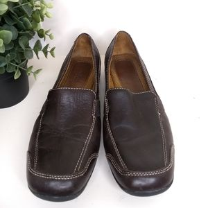 Naturalizer Brown Leather Shoe Size 8 Camelia